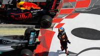 Daniel Ricciardo po závodě v Kanadě