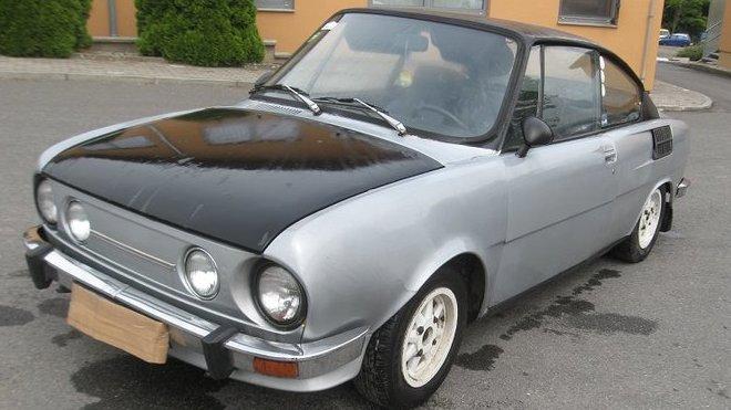 Škoda 110 R jde do dražby