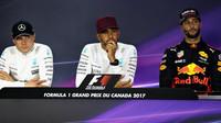 Tiskovka po závodě v Kanadě