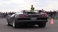 Lamborghini Diablo není stroj určený k Driftování