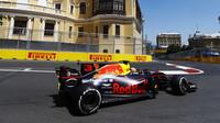 Daniel Ricciardo v kvalifikaci v Baku