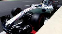 Felipe Massa v kvalifikaci v Baku