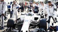 Felipe Massa před v závodem v Baku