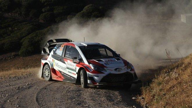 Lappi s Fermem zatím předvádějí za volantem Toyoty velmi pěkné výkony