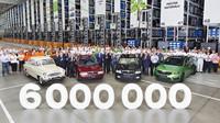 Škoda Auto nedávno oslavila 6 000 000 vyrobených Octavií