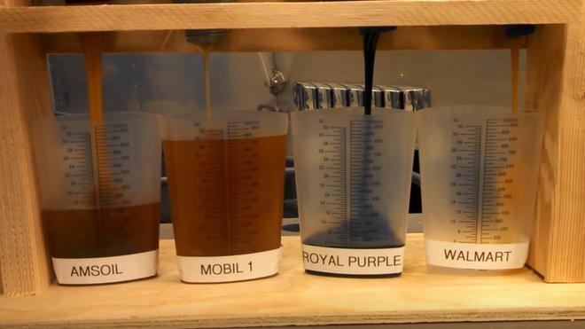 Ačkoliv mají oleje stejné označení SAE, mezi jednotlivými výrobci jsou obrovské rozdíly