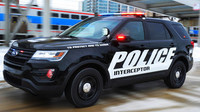 Rabující muž se pokusil ukrást policejní SUV přímo před policistou, ten ho zastřelil - anotační foto