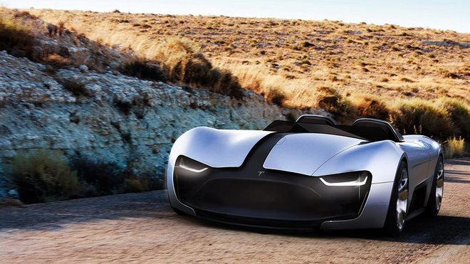 Studie Tesla Roadster Y
