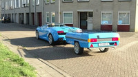 Lamborghini Gallardo s vlečným vozíkem je skutečně netradiční kombinací