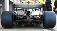 Zadní část Mercedesu F1 W08 EQ Power+