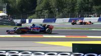 Carlos Sainz při pátečním tréninku v Rakousku