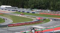 Páteční trénink v Rakousku