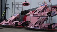 Přední křídlo vozu Force India v Rakousku