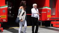 Bernie Ecclestone se svou manželkou v Rakousku