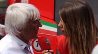 Bernie Ecclestone během televizního rozhovoru
