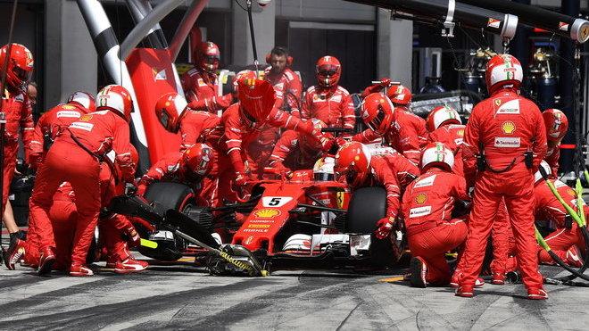 Ferrari přišlo o dobré pozice v posledních dvou kolech