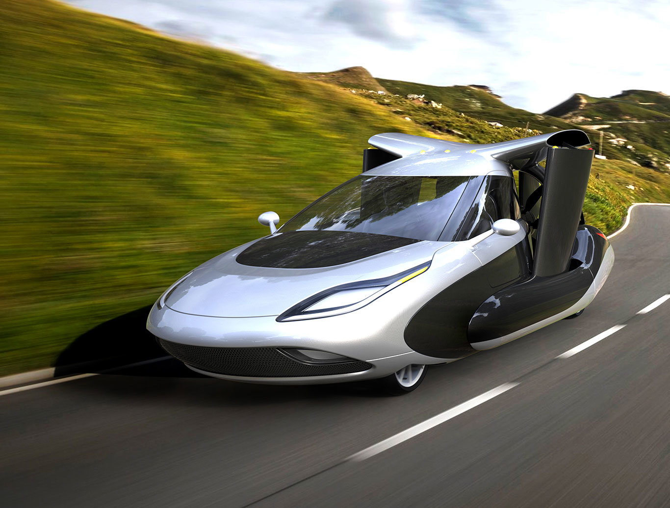 Koncept létajících vozů budoucnosti, Terrafugia TF-X