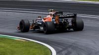 Stoffel Vandoorne v závodě v Rakousku