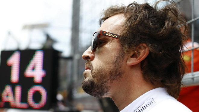 Fernando Alonso je prozatím spokojen - tedy po osobní stránce