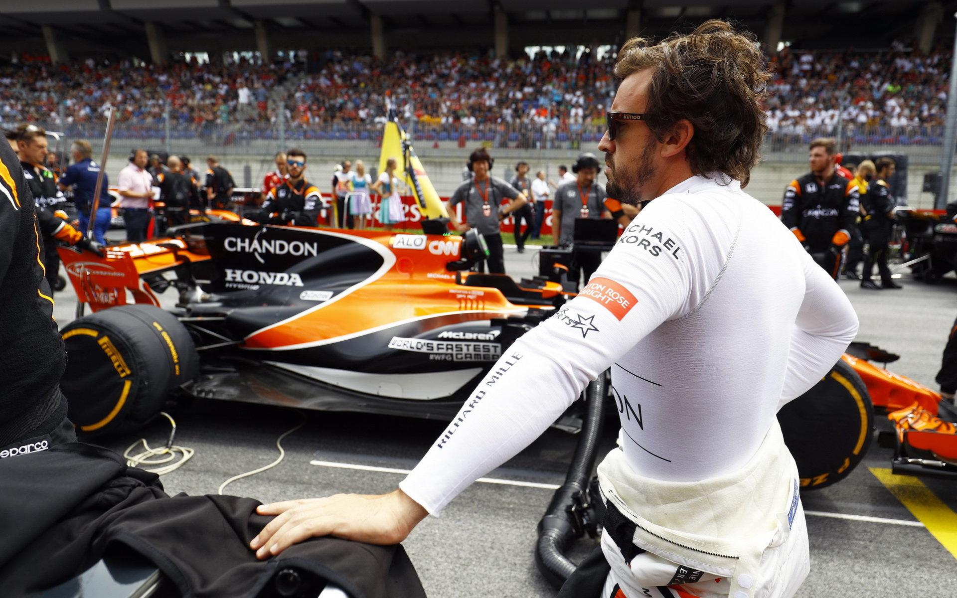 Fernando Alonso se těší na dobu, až McLaren získá konkurenceschopnější motor
