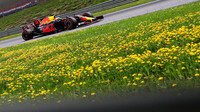 Daniel Ricciardo v závodě v Rakousku