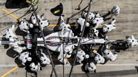 Lance Stroll v závodě v Rakousku