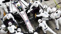 Felipe Massa u svých mechaniků