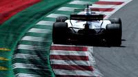 Felipe Massa v závodě v Rakousku