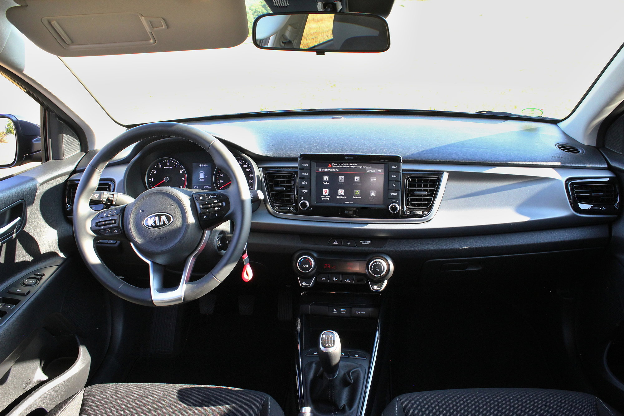 Test vozu Kia Rio 1,4CVVT Exclusive