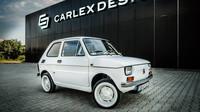 "Unikátní Fiat 126p Maluch ""Bielsko-Biała for Tom Hanks"""
