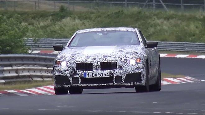 Prototyp nového BMW řady 8