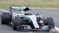 Valtteri Bottas po závodě v Silverstone