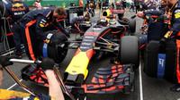 Max Verstappen před závodem v Silverstone