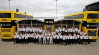 Tým Renault v Silverstone