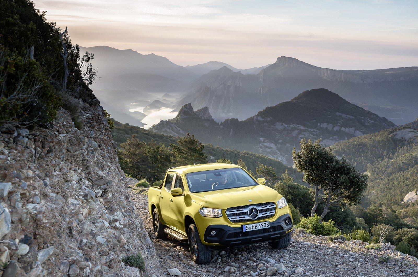 Nový Pickup Mercedes-Benz X