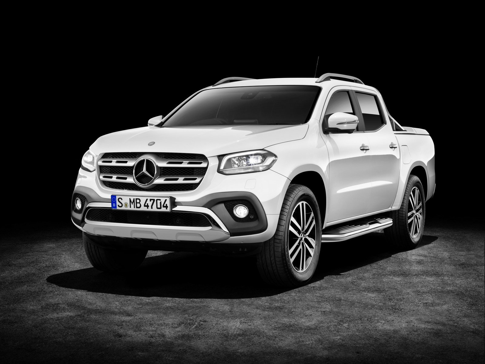 Nový Pickup Mercedes-Benz X