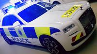 Policejní Rolls-Royce Ghost Black Badge