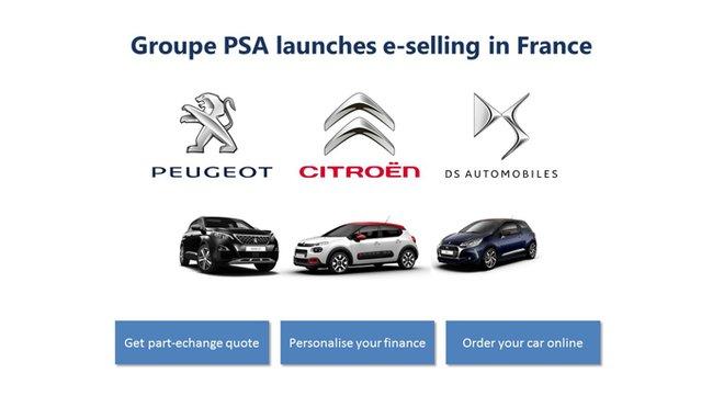 Skupina PSA spouští prodej vozidel přes internet. Prozatím však pouze ve Francii
