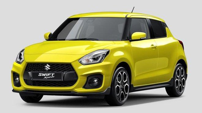 Nová generace Suzuki Swift Sport