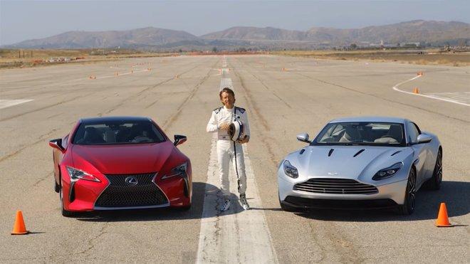 Lexus LC500 vs. Aston Martin DB11. Kdo vyhrál vostrém testu?