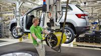 Automobilka Škoda zahájila sériovou výrobu nového SUV Karoq i v Mladé Boleslavi