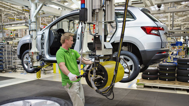 Zahájení výroby nového SUV Karoq