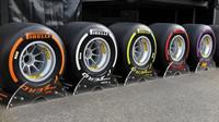 Pneumatiky Pirelli pro sezónu 2017