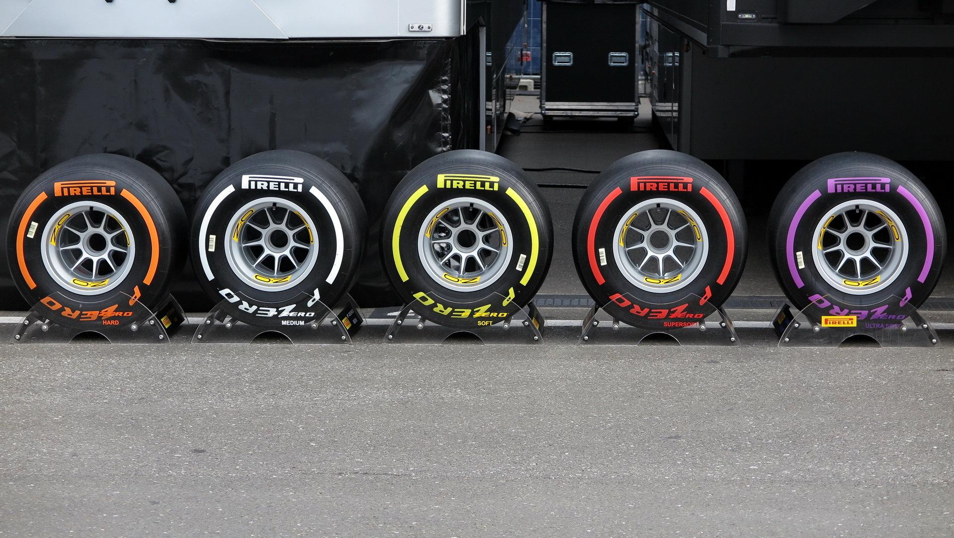 Týmy si pneumatiky pro rok 2018 vyzkouší společně po závodě v Abú Zabí