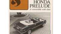 Vzácná Honda Prelude Solaire