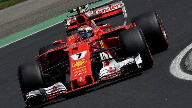 Kimimu Räikkönenovi kvalifikace v Maďarsku nevyšla dle jeho představ