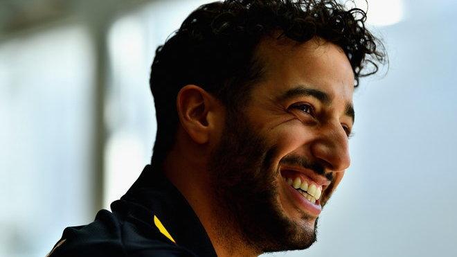 Daniel Ricciardo v Maďarsku