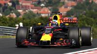 Daniel Ricciardo během tréninku v Maďarsku