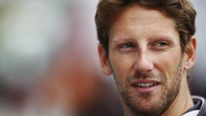 Jezdec Haasu Romain Grosjean