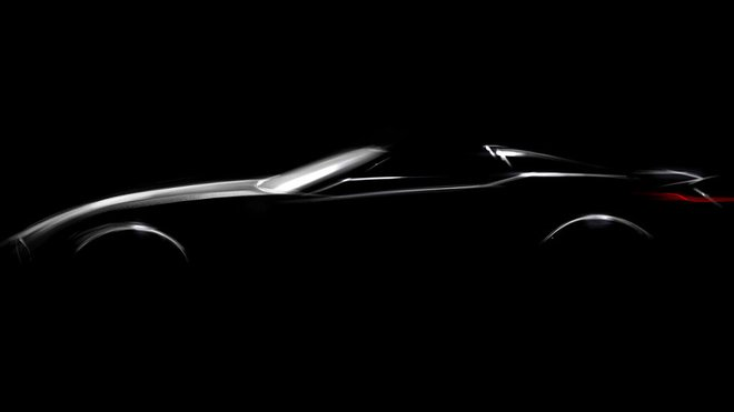 Koncept nového roadsteru BMW